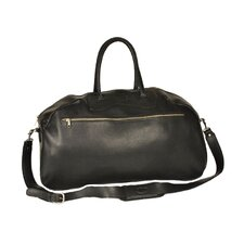 """24"""" Leather Gym Bag"""