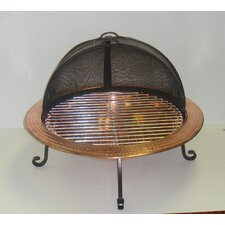 Solid Copper Fire Pit