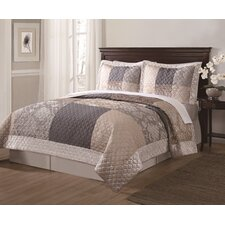 Wyndham 2 Piece Quilt Set