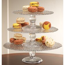 Heritage Home Hammered Cake Stand