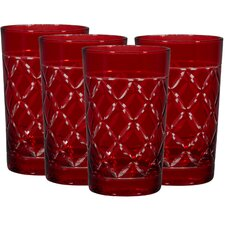 Hiball Red Glass (Set of 4)