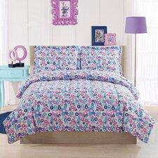 Libby Floral Comforter Set