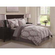 Linen Leaf 10 Piece Bed Ensemble Comforter Set