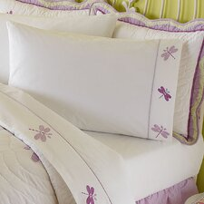 Dragonfly Butterfly 200 Thread Count Sheet Set