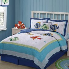 Colorful Sea Quilt set
