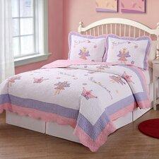 Fairy Princess Garden Quilt Set