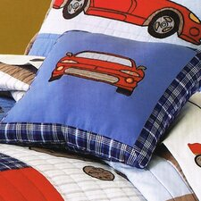 Cars Cotton Throw Pillow