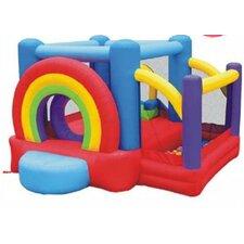 Lucky Rainbow Bounce House