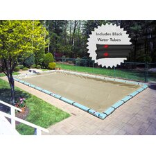 Premium In-Ground Winter Swimming Pool Cover with Water Tube Kit