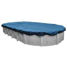 Super Oval Above-Ground Winter Swimming Pool Cover