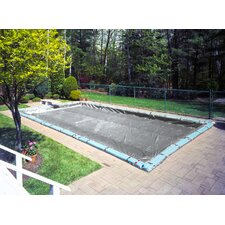 Platinum In-Ground Winter Swimming Pool Cover with Water Tubes