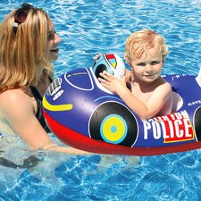 Transportation Baby Rider Police Car Pool Raft