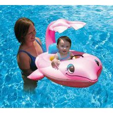 Pool Floats Dolphin Learn-to-Swim Baby Seat