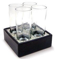 5 Piece Cool Cordial Glass Set
