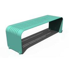 Botanist Lines Aluminum Picnic Bench