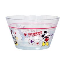 Disney Mickey and Friends 22 oz. Glass Bowl (Set of 6)