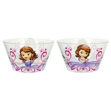 Disney Sofia 22 oz. Glass Bowl (Set of 6)