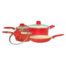 7-Piece Aluminum Cookware Set