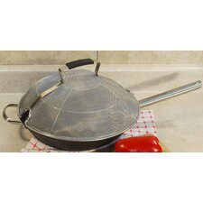 """13"""" High Dome Round Stainless Steel Splatter Screen"""
