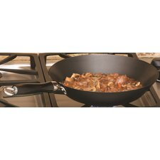 """12"""" Non-Stick Carbon Steel Chinese Wok"""