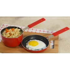 Mini Aluminum 2-Piece Cookware Set