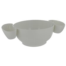 Chips and Dip Tray (Set of 3)