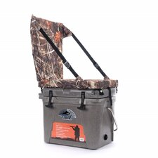 23 Qt. Sub Z Cooler with Camo High Back Seat