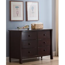 Madisson 6 Drawer Double Dresser