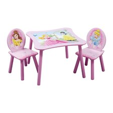 Princess Table and Side Chair Set