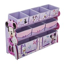 Minnie Mouse Deluxe 9 Bin Toy Organizer