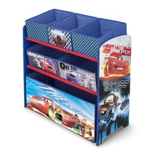 Pixar Cars Multi Bin Toy Organizer