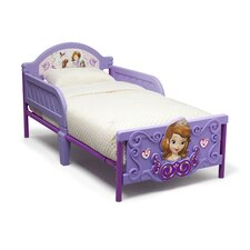 Jr. Sofia the First 3D Plastic Toddler Bed