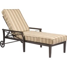 Andover Outdoor Chaise Lounge Cushion
