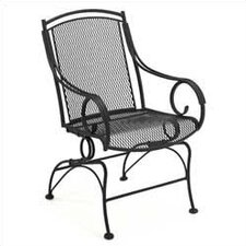 Modesto Coil Spring Dining Arm Chair