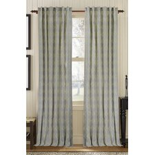 Exotic Single Drape Panel