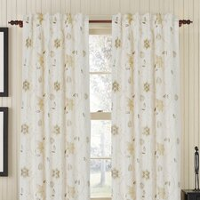 Passion Linen Rod Pocket Single Drape Panel