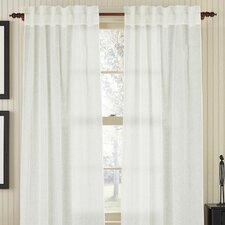 Linen Air Rod Pocket Single Drape Panel