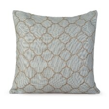 Intricate Burlap Throw Pillow
