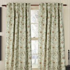 Harmony Linen Rod Pocket Single Drape Panel