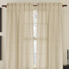 Dots Pocket Drape Single Curtain Panel