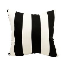 Striped Indoor/Outdoor Throw Pillow