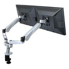Dual Desk Mount Spring Arm Quick Release