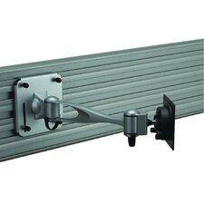 Slatwall Extending Arm/Tilt/Swivel Wall Mount for LCD