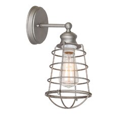 Ajax 1 Light Bathroom Wall Sconce