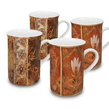 Tapestry 10 oz. Mug 4 Piece Set