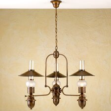 Rustik Velha Three Light Chandelier