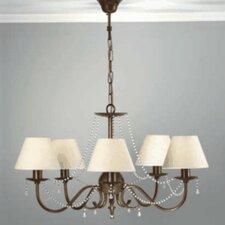 Classic Missangas Five Light Chandelier