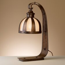 """Rustik Armada 19.75"""" H Table Lamp with Dome Shade"""
