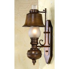 Rustik Rustica 1 Light Wall Sconce