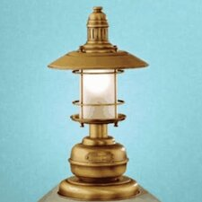 "Nautic Ancora Small 15.16"" H Table Lamp with Bell Shade"